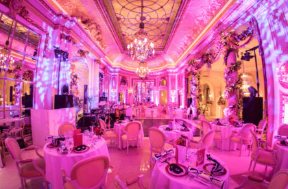 Sheer Glamour at The Ritz